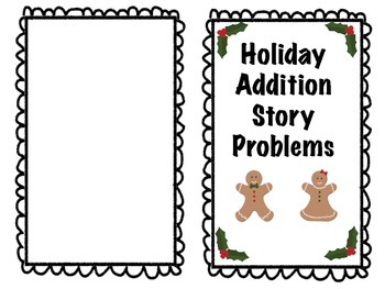 HOLIDAY ADDITION STORY PROBLEMS