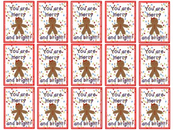 HOLIDAY Brag Tags- a growing bundle! (First Grade)