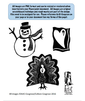 HOLIDAY CLIP ART FOR FALL AND WINTER