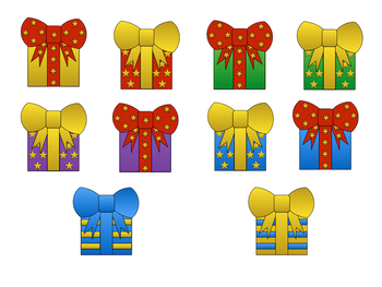 Christmas Holidays Clipart.Christmas Holiday Clipart Presents Gifts With Color And Black White Images