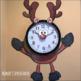 HOLIDAY CLOCK ROOM DECOR Santa Speech Therapy classroom teacher