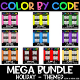 HOLIDAY Color by Code: The MEGA Bundle
