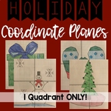 HOLIDAY Coordinate Planes! Quadrant 1 ONLY