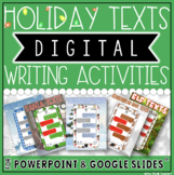 HOLIDAY DIGITAL WRITING ACTIVITIES BUNDLE