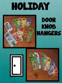 HOLIDAY DOOR KNOB HANGERS