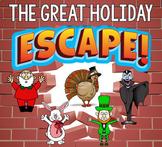 HOLIDAY Escape Room Bundle (Activities, Trivia & Puzzle Ga