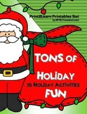 Christmas Holiday Bundle [16 Activities -Tons of Fun] 1