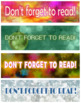 HOLIDAY GIFT TAGS or BOOKMARKS with READING LIST for FREE!  ENJOY!