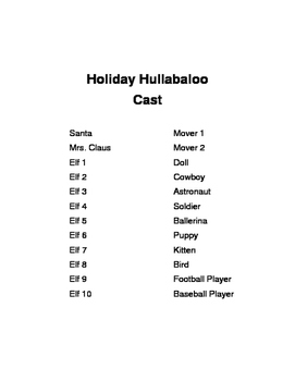 HOLIDAY HULLABALOO ~ The elves' exciting escapades!