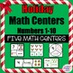 HOLIDAY MATH CENTERS PAIR PACK BUNDLE!!
