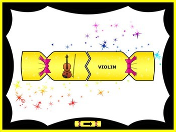 Holiday Poppers: Symphony Orchestra Instruments