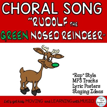 "Holiday Song or Rap: ""Rudolf the Green Nosed Reindeer""  Mp3 Tracks"