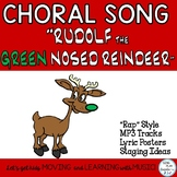 """Holiday Song or Rap: """"Rudolf the Green Nosed Reindeer""""  Mp3 Tracks"""