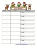 HOLIDAY SHOPPING LIST ORGANIZER