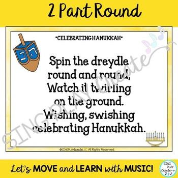 "Choral Song: ""Celebrating Hanukkah"" Holiday Pentatonic Round"