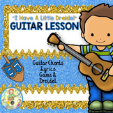 """Guitar Holiday Song: """"I Have a Little Dreidel"""" with Chords"""