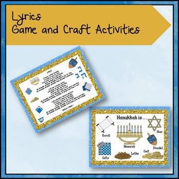 "Kodaly Hanukkah Song: ""I Have a Little Dreidel"" Lesson, Game, Craft"