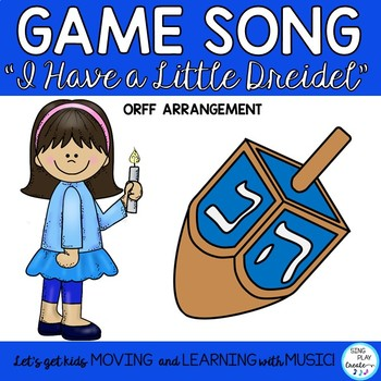 "Orff Hanukkah Song and Lesson: ""I Have a Little Dreidel"" Orff Arrangement"