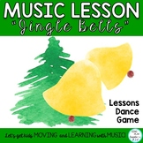 """Holiday Music Lesson: """"Jingle Bells"""" Orff, Guitar, Keyboard, Printables, Mp3"""