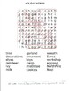 HOLIDAY WORDS WORDSEARCH