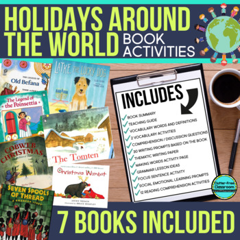 HOLIDAYS AROUND THE WORLD ACTIVITIES 7 Book Bundle READ ALOUD LESSONS