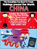 HOLIDAYS AROUND THE WORLD:  CHINA Mini Unit