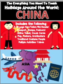 HOLIDAYS AROUND THE WORLD:  CHINA Mini Unit