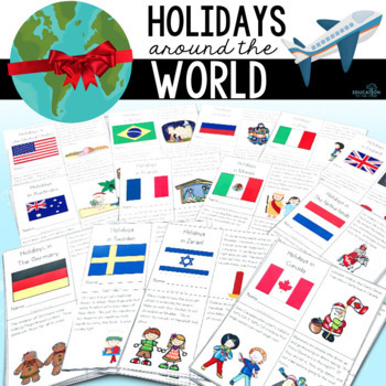 Christmas Around the World, Christmas Activities, Holidays Around the World