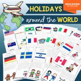 Holidays Around the World | Christmas Around the World | Printable and Digital