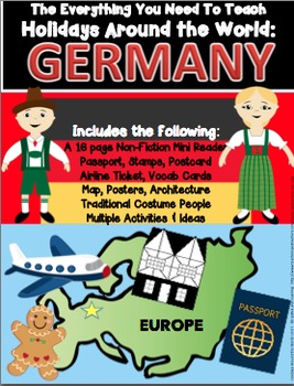 HOLIDAYS AROUND THE WORLD:  GERMANY  Mini Unit