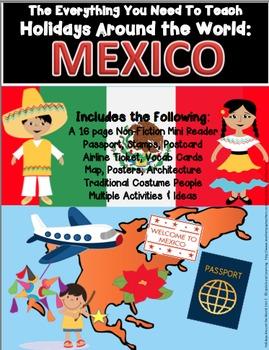 HOLIDAYS AROUND THE WORLD:  MEXICO Mini Unit
