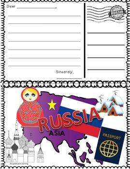 HOLIDAYS AROUND THE WORLD:  RUSSIA Mini Unit