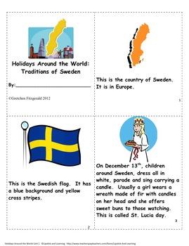 HOLIDAYS AROUND THE WORLD:  SWEDEN  Mini Unit