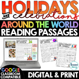 HOLIDAYS Around the World Reading Passages | Distance Lear