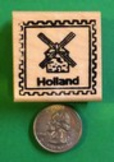 HOLLAND Country/Passport Rubber Stamp