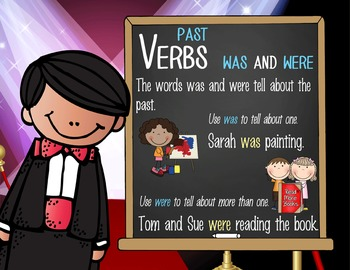 HOLLYWOOD - 1st grade GRAMMAR posters / Scott Foresman Reading