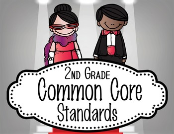 "HOLLYWOOD - 2nd Grade Common Core Standards ""I CAN"" format"