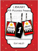 """HOLLYWOOD """"All-Access"""" Numbered Passes - Book Club, Library Club {editable}"""