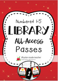 "HOLLYWOOD ""All-Access"" Numbered Passes - Book Club, Librar"