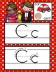 HOLLYWOOD - Alphabet Cards, Handwriting, Flash Cards, ABC print with pictures