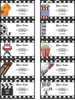 HOLLYWOOD Business Cards