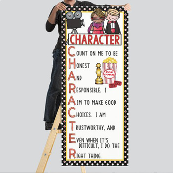 HOLLYWOOD - Classroom Decor: LARGE BANNER, CHARACTER