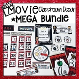 HOLLYWOOD MOVIE THEME CLASSROOM DECORATION SET MEGA BUNDLE