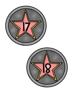 HOLLYWOOD MOVIE THEMED CLASSROOM DECOR EDITABLE CENTER AND SUPPLY LABELS