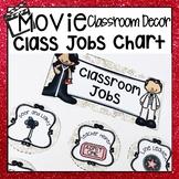HOLLYWOOD MOVIE THEMED CLASSROOM DECOR JOB DISPLAY CHART