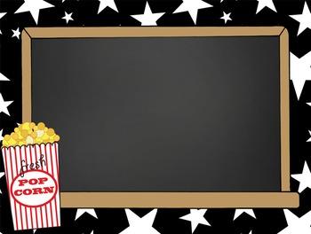 HOLLYWOOD - PowerPoint, Open House, Curriculum Night, Meet the Teacher