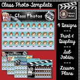 HOLLYWOOD Class Photos and Names For Substitute & Lesson Plans SUPERCUTE!