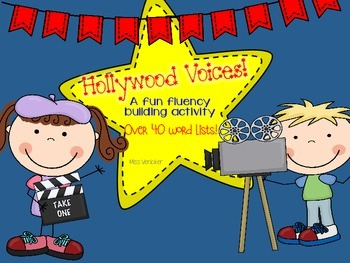 HOLLYWOOD VOICES: fluency building + over 40 word lists
