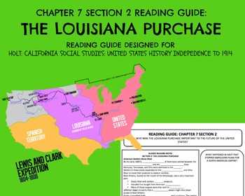 HOLT: UNITED STATES HISTORY INDEPENDENCE TO 1914 READING GUIDE CH. 7 SEC. 2