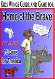 HOME OF THE BRAVE!  Plus 14 COWS FOR AMERICA!  Perfect for